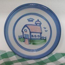 M A Hadley Pottery Plates